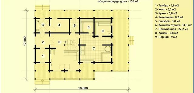 Проекты домов из дерева, план дома и строительство под ключ, проектирование и строительство деревянных домов.