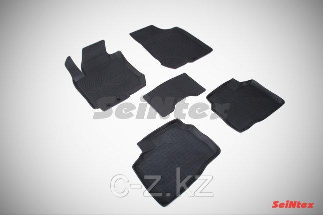 Резиновые коврики с высоким бортом для Hyundai Elantra IV 2006-2011, фото 2