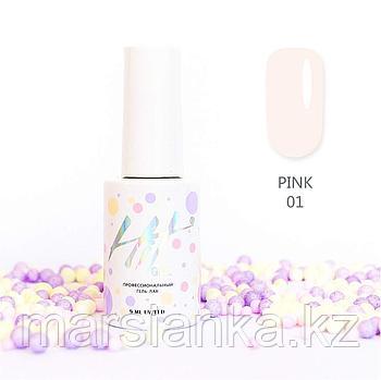 Гель-лак HIT gel Pink №01, 9мл