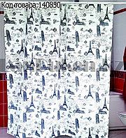 Водонепроницаемая тканевая шторка для ванной Miranda Ancient 180x200 см