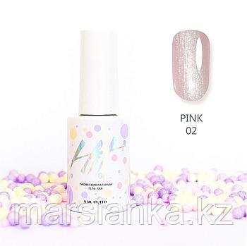 Гель-лак HIT gel Pink №02, 9мл