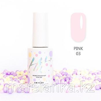 Гель-лак HIT gel Pink №03, 9мл