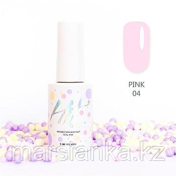 Гель-лак HIT gel Pink №04, 9мл