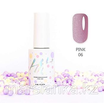 Гель-лак HIT gel Pink №06, 9мл