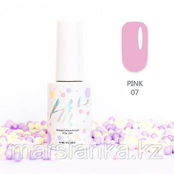 Гель-лак HIT gel Pink №07, 9мл