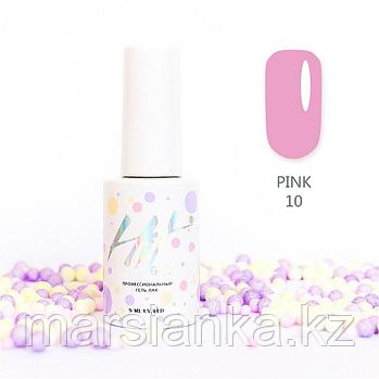 Гель-лак HIT gel Pink №10, 9мл