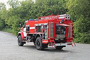 Автоцистерна пожарная АЦ-4,0-40 (43206)  На базе Урал 43206; Насос: С насосом заднего расположения, фото 3