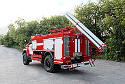 Автоцистерна пожарная АЦ-4,0-40 (43206)  На базе Урал 43206; Насос: С насосом заднего расположения, фото 4