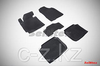 Резиновые коврики с высоким бортом для Hyundai Elantra V 2011-2016