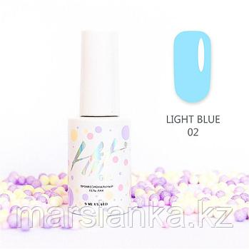 Гель-лак HIT gel Light Blue №02, 9мл