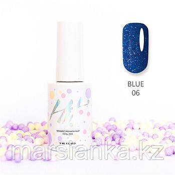 Гель-лак HIT gel Blue №06, 9мл