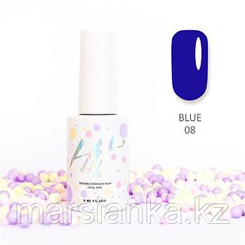 Гель-лак HIT gel Blue №08, 9мл
