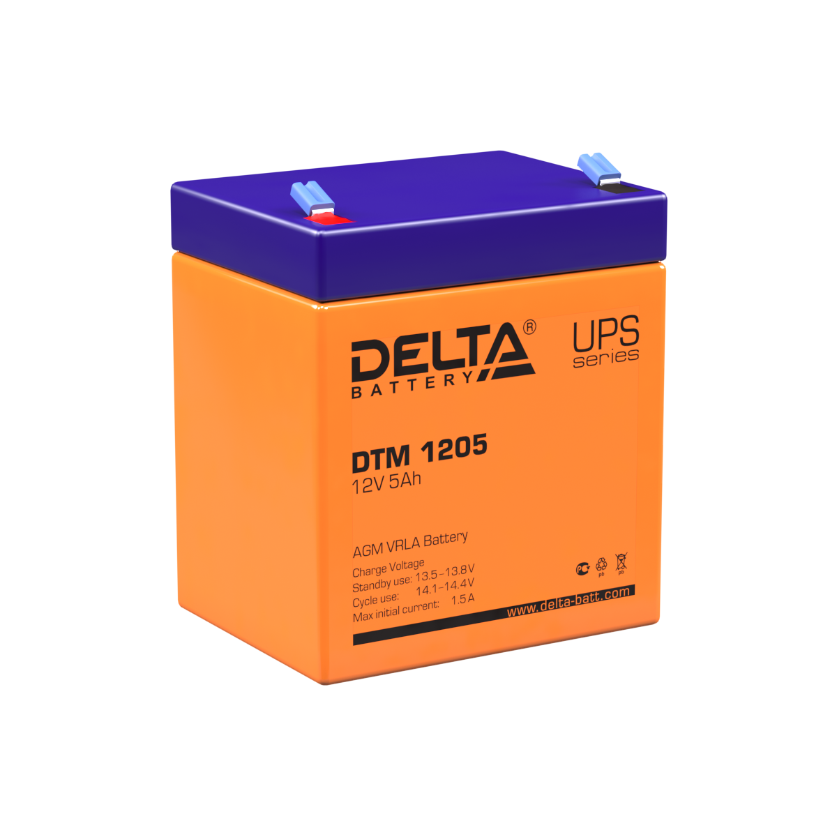 Аккумуляторы Delta DTM 1205