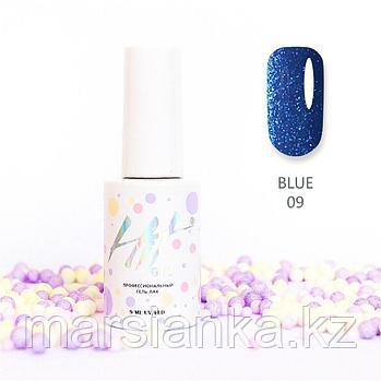 Гель-лак HIT gel Blue №09, 9мл