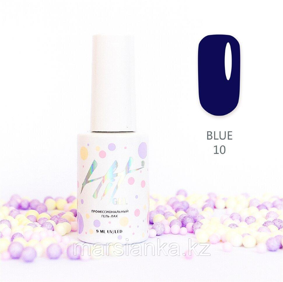 Гель-лак HIT gel Blue №10, 9мл