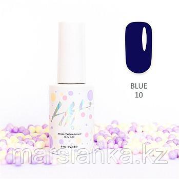 Гель-лак HIT gel Blue №10, 9мл