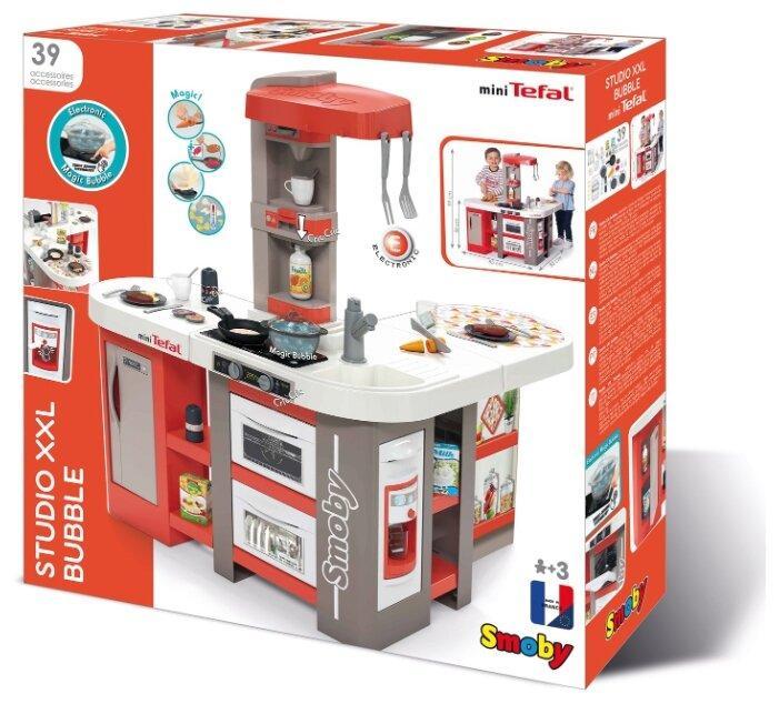 Детская  кухня электронная кухня Smoby Tefal Studio XXL