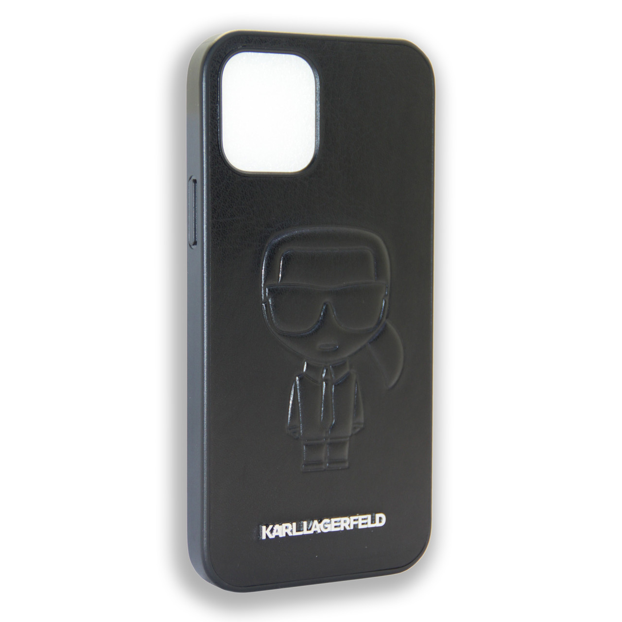 Karl Lagerfeld Collections IKONIK OUTLINE Black Apple iPhone 12 Max, iPhone 12 Pro