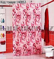 Водонепроницаемая тканевая шторка для ванной Miranda Roses 180x200 см