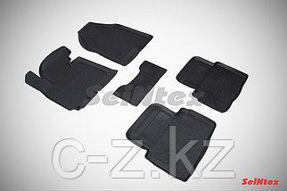 Резиновые коврики с высоким бортом для KIA Sportage III 2010-2015