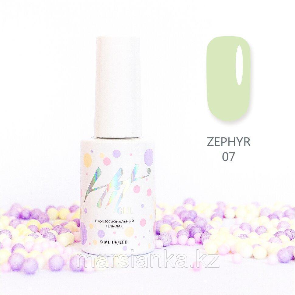 Гель-лак HIT gel Zephyr №07, 9мл