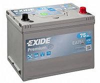Аккумулятор Exide EA 754 75Ah, фото 1