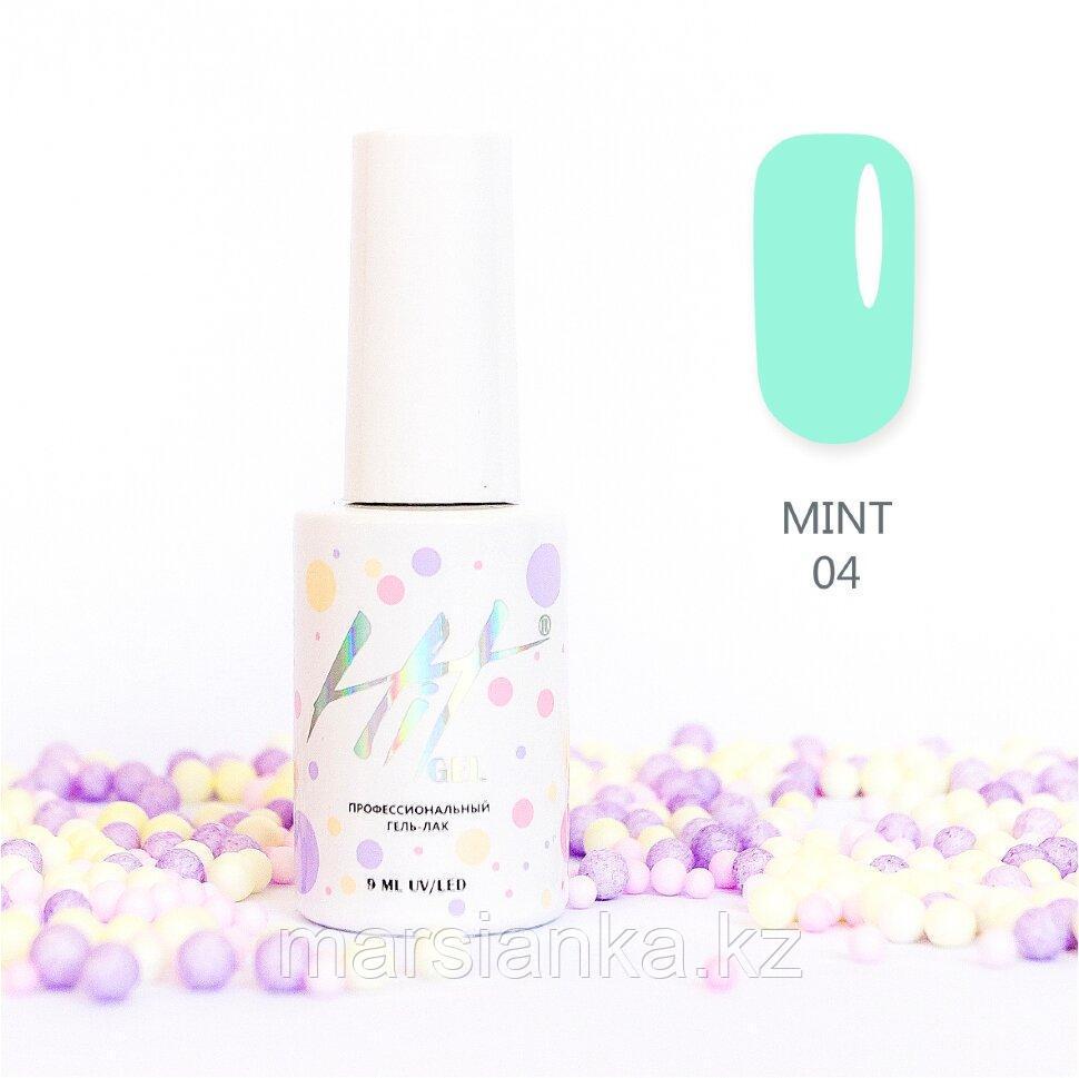 Гель-лак HIT gel Mint №04, 9мл