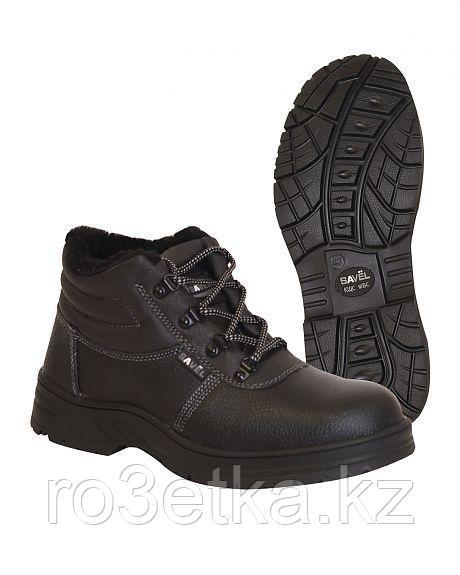 """Ботинки """"Титан"""" с металлоподноском, иск. мех"""