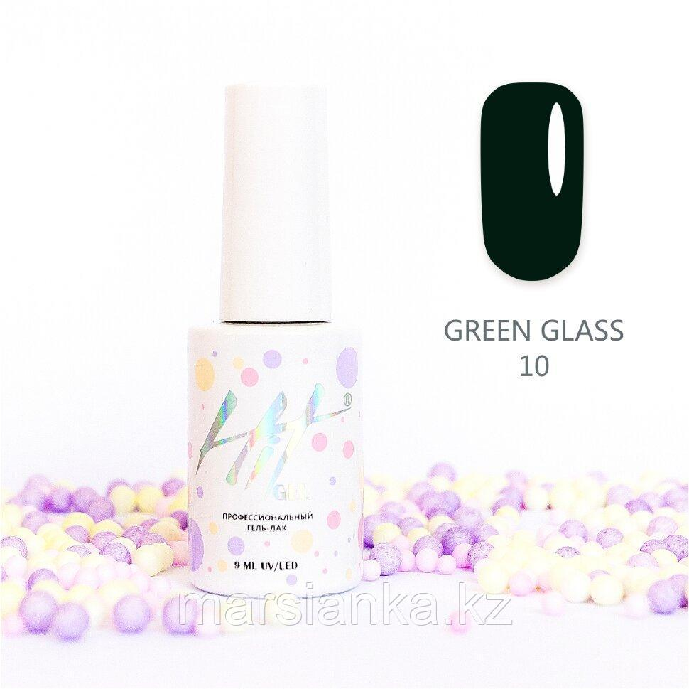 Гель-лак HIT gel Green glass №10, 9мл