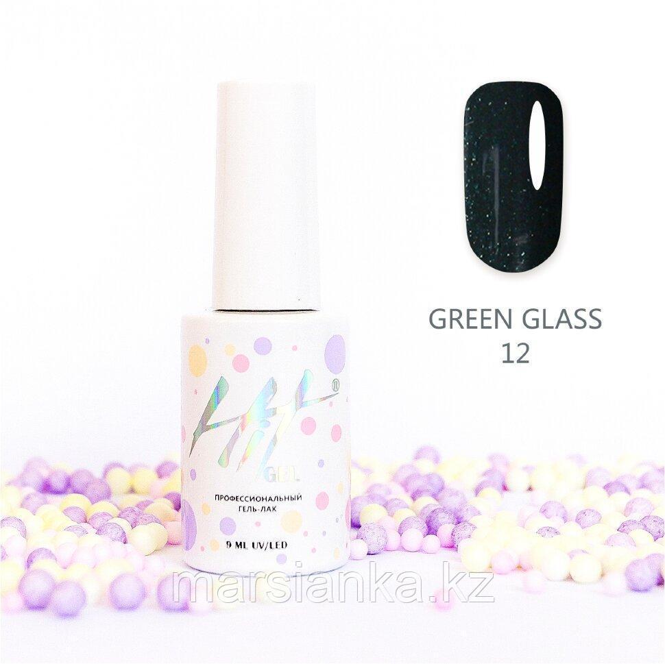 Гель-лак HIT gel Green glass №12, 9мл