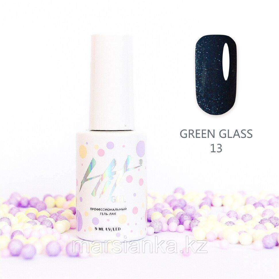 Гель-лак HIT gel Green glass №13, 9мл