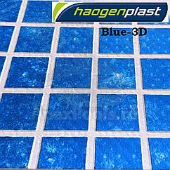 ПВХ пленка для бассейна Haogenplast MATRIX BLUE 3D