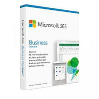 Офисные приложения Microsoft Office 365 Business Standard Retail (KLQ-00518)