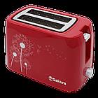 Тостер SAKURA SA-7608R (Red)