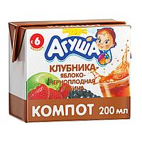 Сок детский АГУША компот 0.2