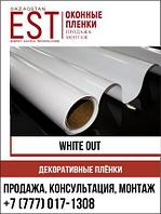 Декоративная пленка White Out, белый глянец не прозрачная