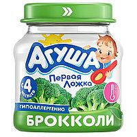 Пюре детское овощ АГУША брокколи 80 г