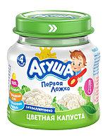 Пюре детское овощ АГУША цветная капуста 80 г