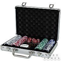 Набор из 200 премиальных фишек для покера с номиналом