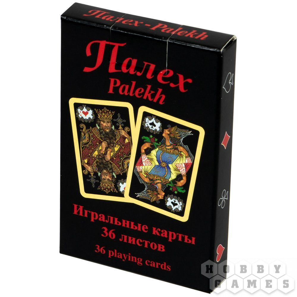 """Игральные карты """"Черный Палех"""" (36 листов)"""