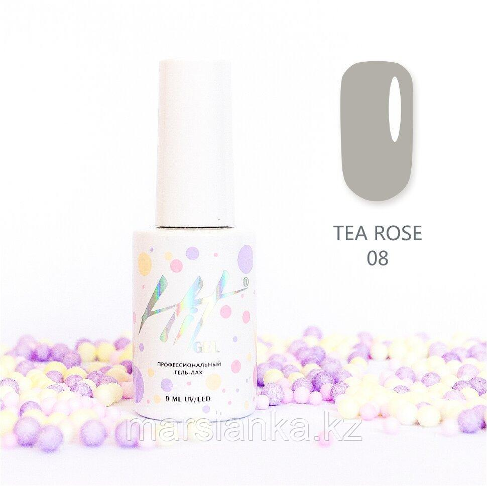 Гель-лак HIT gel Tea Rose №08, 9мл