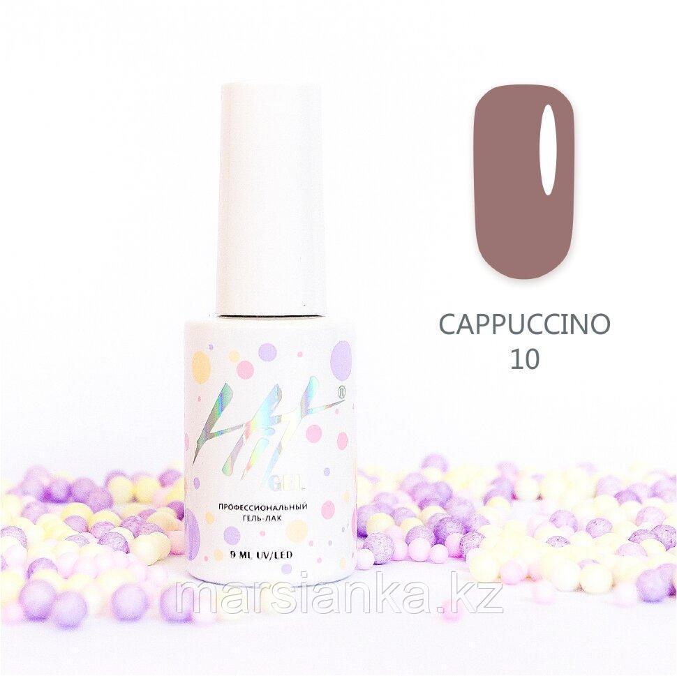 Гель-лак HIT gel Cappuccino №10, 9мл