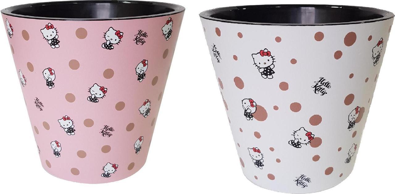 Горшок для цветов London D 160 мм/1,6 л Hello Kitty ® Точки