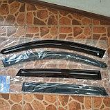 Ветровики дверей (дефлекторы окон) Kia Sorento XM (2009-2014), фото 2