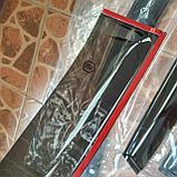 Ветровики дверей (дефлекторы окон) Kia Sorento UM (2014-), фото 3