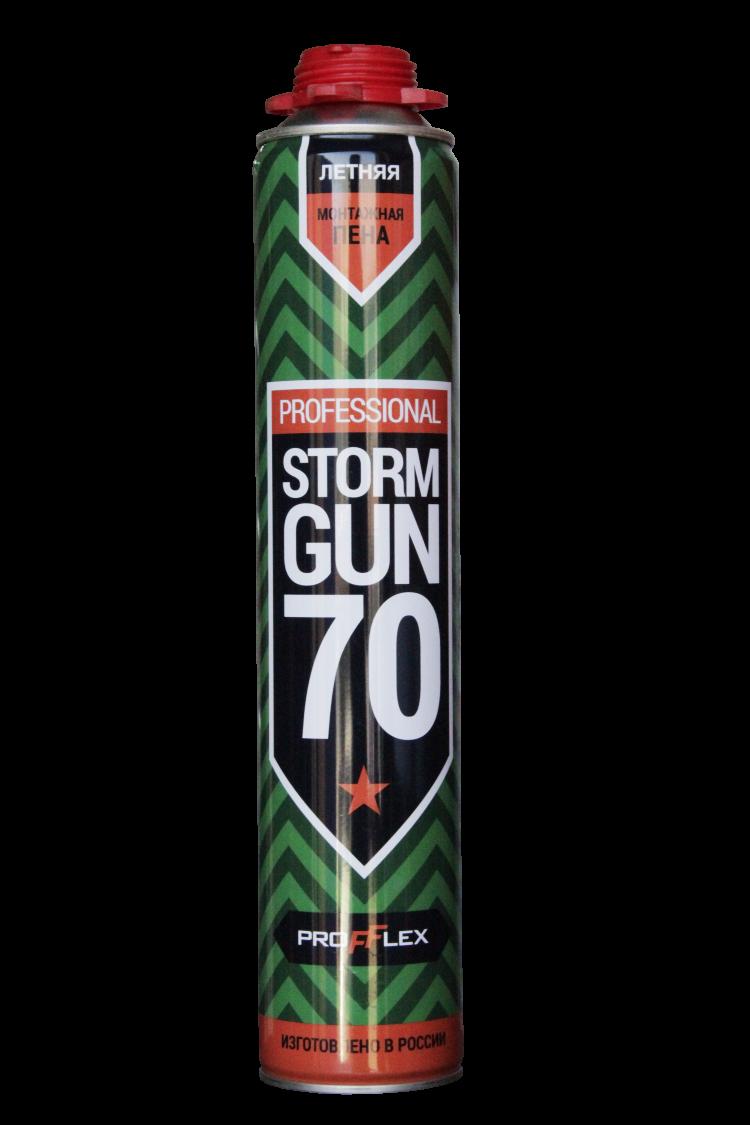 Пена монтажная STORM GUN PRO 70л NEW