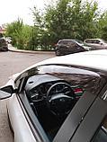 Ветровики дверей (дефлекторы окон) Kia Cee'd 5 дв. хэтчбек (2012-2018), фото 2