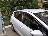 Ветровики дверей (дефлекторы окон) Kia Cee'd 5 дв. хэтчбек (2012-2018), фото 3