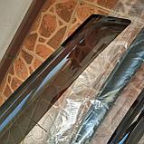 Ветровики дверей (дефлекторы окон) Kia Cee'd 5 дв. хэтчбек (2012-2018), фото 6