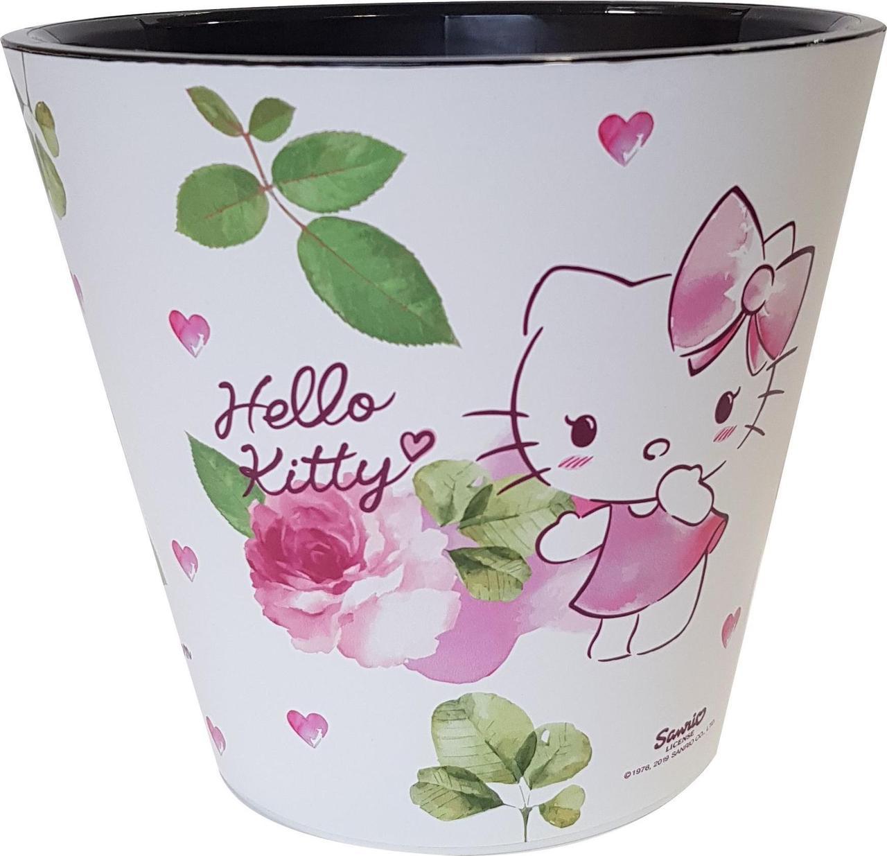 Горшок для цветов London D 200 мм/4 л Hello Kitty ® Любовь